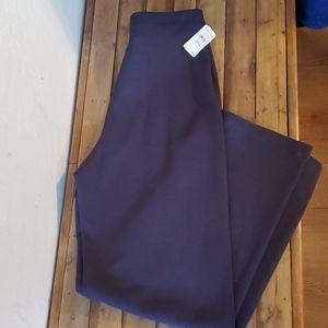 Eileen Fisher purple pants size small